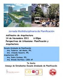arquillano Perspectivas de Urbanismo: Arquitectura vs Planificación