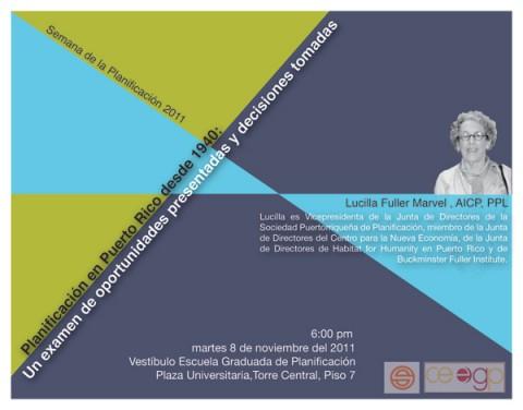 arquillano Semana de la Planificación 2011   PROGRAMA REVISADO