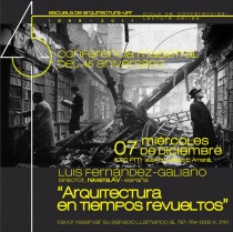 arquillano Conferencia UPR: Luis Fernandez Galiano