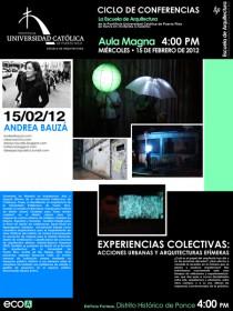 arquillano Conferencia EAPUC: Andrea Bauzá