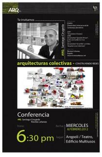 arquillano Conferencia ArqPoli: Arq. Santiago Cirugeda