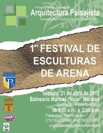 arquillano Primer Festival de Esculturas de Arena