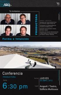 arquillano Conferencia ArqPoli: PRODUCTORA