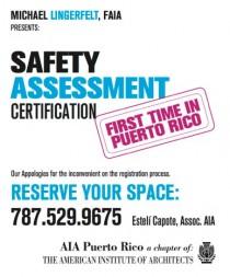 arquillano Seminario AIA: Certificación de Inspectores en Seguridad Estructural Post Desastres Naturales