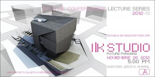 arquillano Conferencia UPR: I|k Studio – Future Forward