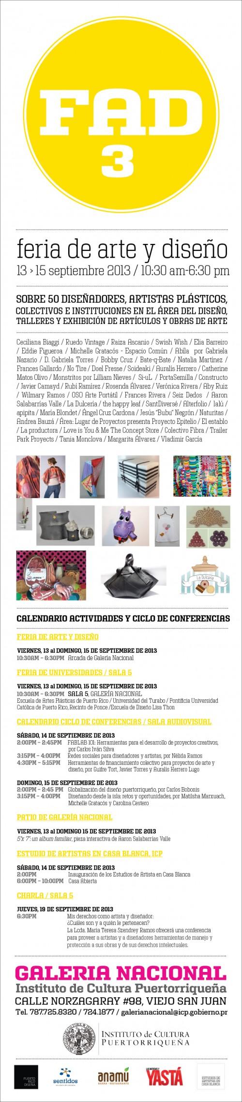 arquillano FAD 3: Feria de Arte y Diseño